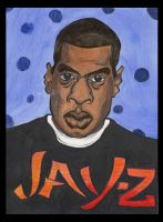 Jay- Z With Poka- Dots by IkeDaArtist
