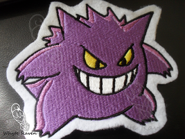 Gengar Embroidery Patch by Whyte-Raven