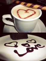 Coffe+Love by Livingthefame