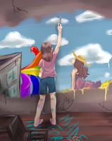 Paint Your Own Future by CeloTheImpossible