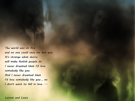 Vampire Lestat and Louis WP by Undead-Academy
