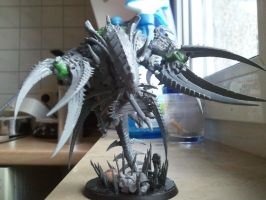 tyranid morgon conversion wip 3 by skincoffin