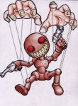 Evil Puppeteer by beanystergates