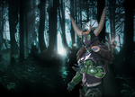 Ysera - Light in the Darkness by HellDolly