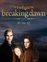 carlisle,bella and renesmee 3 by Bleach-Fairy