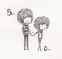 Sam and Oliver by Melovs