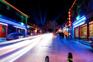 colour street by night by macgl