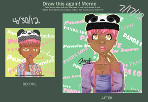 Improvement Meme/ Panda Girl by purplemusic-B-ox