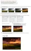 HDR tutorial by Initio