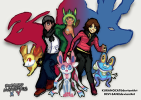 Pocket Monsters X and Y by KuranoCat
