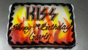 KISS cake by AingelCakes