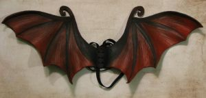 Leather Dragon Wings by Dr-K