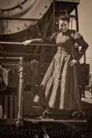 Steampunk Unwoman Virginia and Truckee by MartinGollery