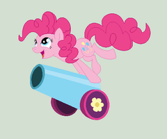 Pinkie's Party Cannon by Jess4horses