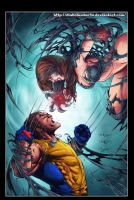 Witchblade Vs Wolverine by diabolumberto