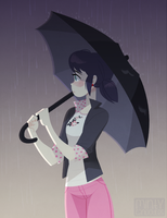 the rain scene by mintycanoodles