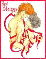 Fred x Nox: Red Strings by Weasley-Detectives