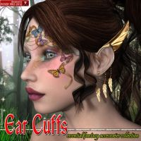 Ear Cuffs For V4 V6 And Genesis 2 by emmaalvarez