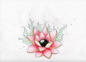 Old School Lotus Flower 3 by CrYpToZ