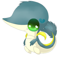 Suki the snivy by snowflake95