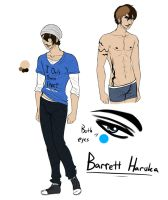 .:Barrett:. :Reference Sheet: by AnnMartini