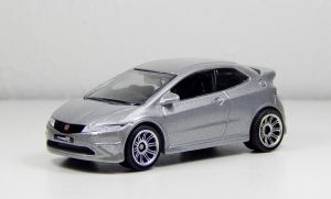 Matchbox 2008 Honda Civic Type R in Silver by Firehawk73-2012