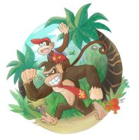 DONKEY KONG COUNTRY RETURNS by Mizutori