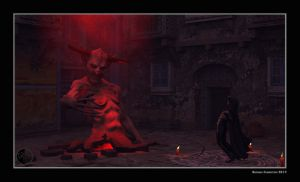 The invocation of the devil by arteandreas