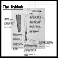 The Dybbuk - Sword design for contest. B/W. 2014 by Cheeseboard