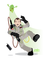 Ghostbusters - Peter by JackAbsinth