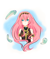 Megurine Luka-vocaloid by da-stalka