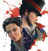 Evie Frye and Jacob Frye by DlesHenry