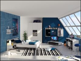 3D Bedroom 11 by FEG