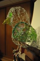 'Henry', the Wire Owl -side- by FarTooManyIdeas