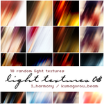 18 random light textures by KumquatsLair