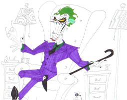 Come Give Your Dear Old Uncle Joker a Big Hug... by SpiketheKlown