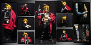 RAH Edward Elric by PacificaArts