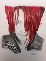 Gerard Way: Sniper by smusachia41