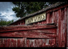 Iron works by shadowfoxcreative