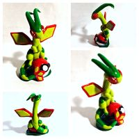 Flygon on a pokeball by LittleCLUUs