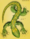 mutated gecko by RMacArt