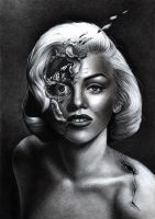 Marilyn Monroe by DemidovArt