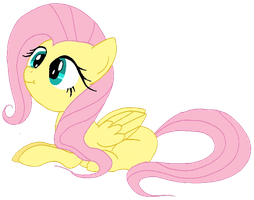 First Fluttershy by Laffy372