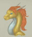 Pepper Dragon - second color test by Imbecamiel