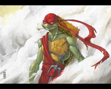 Ninja Turtle by CamaraSketch