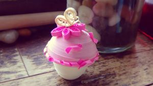 Quilling- Cupcake 1 by Louderp