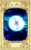 the moon by setalio