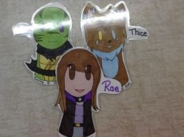 We're laminated by Rae-Chan13