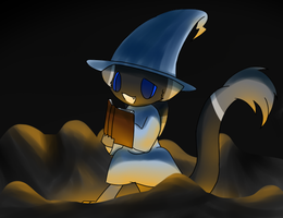 """""""I-Is this the right spell..?"""" by DetectiveBecca"""