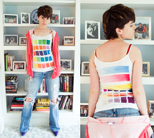 Color Chart Tank by Camaryn